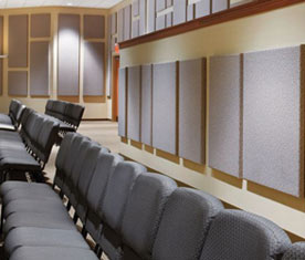 Acoustical panels from Armstrong make a bold statement.