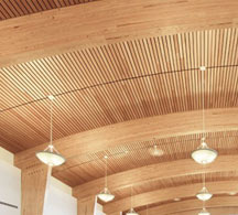 Beautiful acoustical ceiling