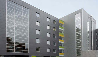 Marley Natura used on Redstone Lofts, University of Vermont, Burlington, Vermont