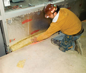 Fire safing insulation