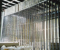 Interior metal framing, Regal Cinemas, Fishkill, NY